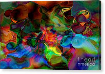 Mixture Of Love Canvas Print by Gayle Price Thomas