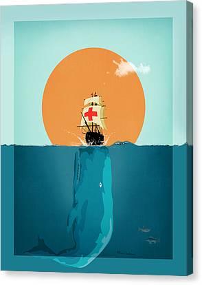 Moby  Canvas Print by Mark Ashkenazi