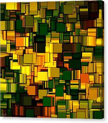 Modern Abstract Xxi Canvas Print by Lourry Legarde