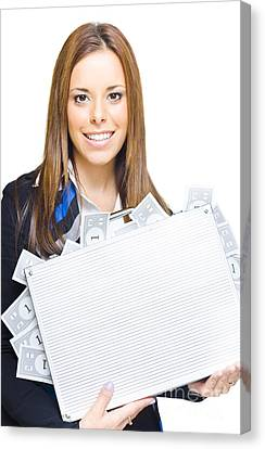 Money Management Canvas Print by Jorgo Photography - Wall Art Gallery