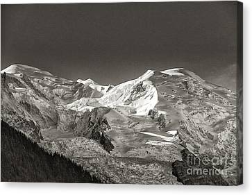 Mont Blanc Group Canvas Print by Juergen Klust
