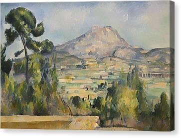 Montagne Saint-victoire Canvas Print by Mountain Dreams