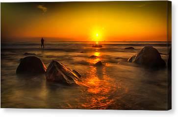 Montauk New York Summer Sunrise Canvas Print