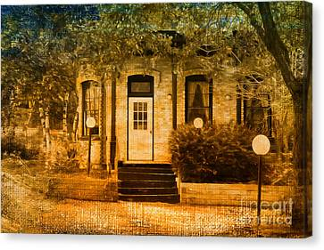 Montpelier Place Canvas Print by Deborah Benoit