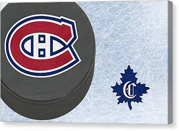 Montreal Canadians Canvas Print by Joe Hamilton