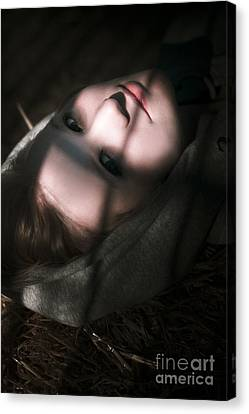 Moon Lit Face Canvas Print by Jorgo Photography - Wall Art Gallery