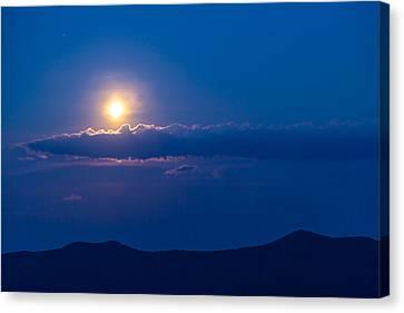 Moonrise Canvas Print by David Cote