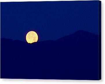 Moonset Canvas Print by Rona Black