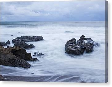 Moonstone Beach Surf 1 Canvas Print