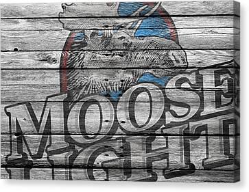 Moosehead Canvas Print