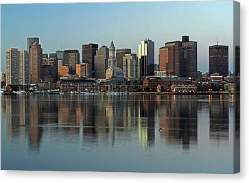 Morning Reflection Canvas Print by Juergen Roth
