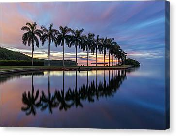 Mornings Reflections II Canvas Print by Claudia Domenig