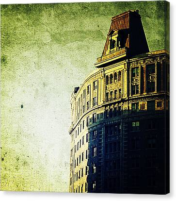 Morningside Heights Green Canvas Print by Natasha Marco