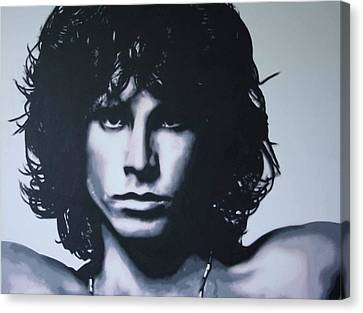 Morrison Canvas Print by Luis Ludzska