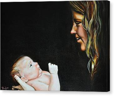 Motherly Canvas Print