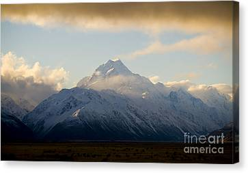 Mount Cook New Zeland Canvas Print by Tim Hester