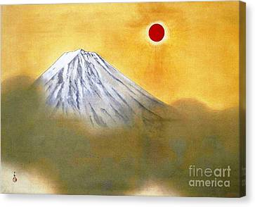 Mount Fuji Canvas Print by Pg Reproductions