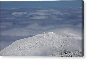 Mountains Canvas Print - Mount Washington, Sargents by Dave Cleaveland