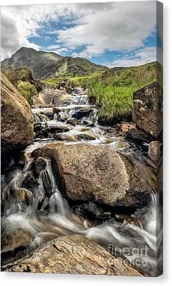 Mountain Stream Canvas Print by Adrian Evans