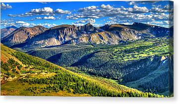 Fort Collins Canvas Print - Mountain View by Scott Mahon