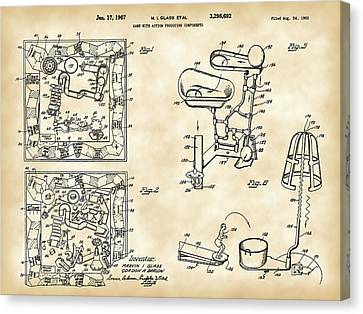 Slide Canvas Print - Mouse Trap Board Game Patent 1962 by Stephen Younts