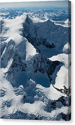 Mt Marcus Baker Canvas Print by Roger Clifford