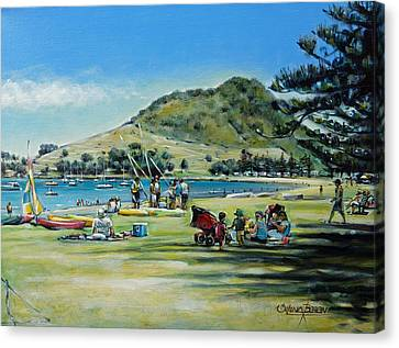 Mt Maunganui Pilot Bay 201210 Canvas Print
