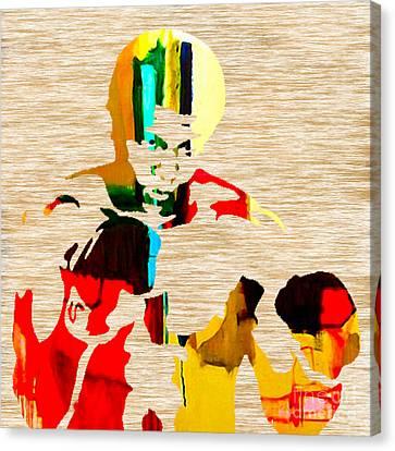 Muhammed Ali Canvas Print by Marvin Blaine