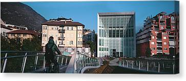 Museum Of Contemporary Art, Bolzano Canvas Print by Panoramic Images