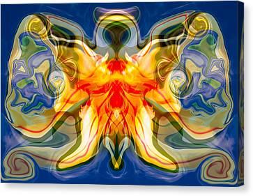My Angel Canvas Print by Omaste Witkowski