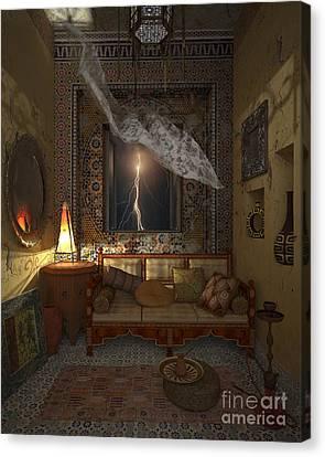 My Art In The Interior Decoration - Morocco - Elena Yakubovich Canvas Print