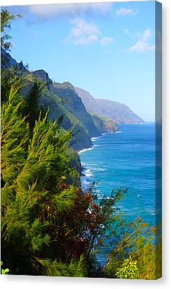 Na Pali Coast Kauai Canvas Print by Kevin Smith
