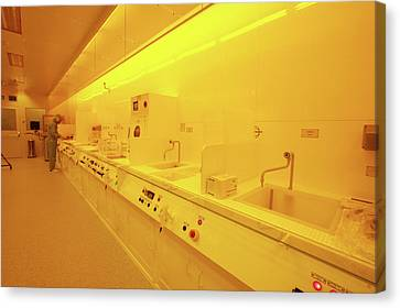 Nanotechnology Centre Canvas Print by Ibm Research