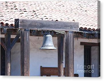 Canvas Print featuring the photograph Napa Bell by George Mount