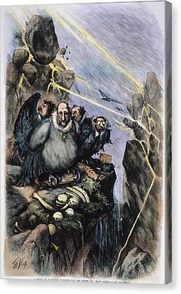 Nast Boss Tweed, 1871 Canvas Print by Granger