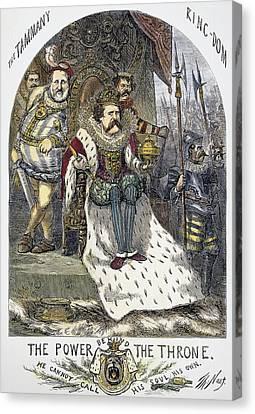 Nast Tweed Cartoon, 1870 Canvas Print by Granger