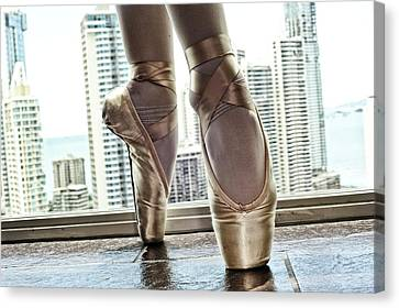 National Ballet Of Panama Canvas Print by