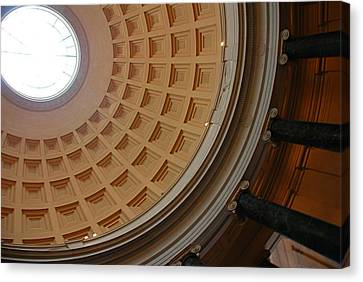 National Gallery Of Art Dome Canvas Print