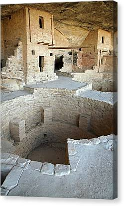 Native American Cliff Dwellings Canvas Print by Jim West