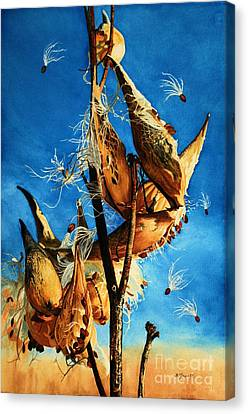 Nature's Launch Pad Canvas Print by Barbara Jewell