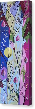 Canvas Print featuring the painting Nature's Bounty by Kathleen Sartoris