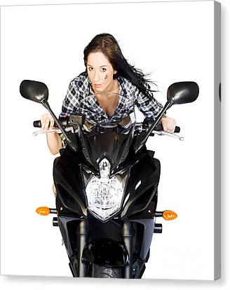 Tomboy Canvas Print - Need For Speed by Jorgo Photography - Wall Art Gallery
