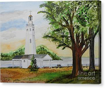 Neenah Light House Canvas Print