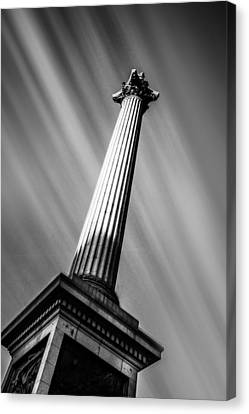 Lord Admiral Nelson Canvas Print - Nelsons Column London by Ian Hufton