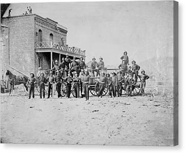 Nevada Carson City, C1865 Canvas Print by Granger