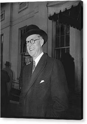 New Ambassador Joseph Kennedy Canvas Print by Underwood Archives