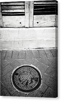 New Orleans Water Meter IIi Canvas Print