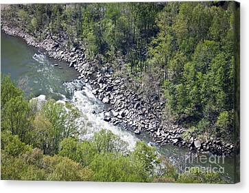 Scenic Canvas Print - New River by Teresa Mucha