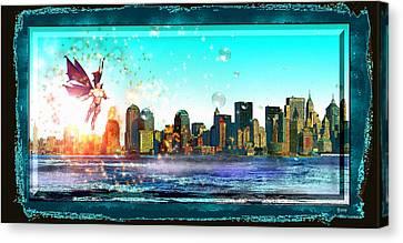 New York City Canvas Print by Daniel Janda