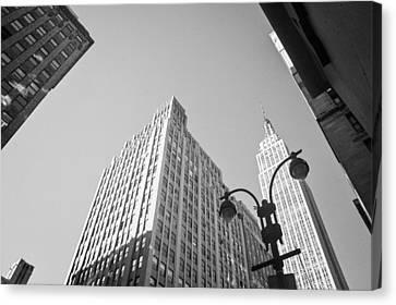 New York City Canvas Print by Ilker Goksen